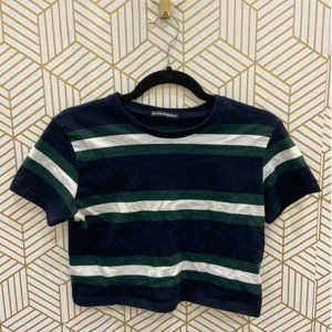 Brandy Melville Striped T-shirt Cropped